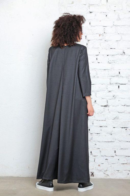 Kaftan Dress, Victorian Dress, Cyberpunk Clothing, Long Dress, Maxi Dress, Loose Dress, Avant Garde Dress, Maternity Clothing, Women Dress