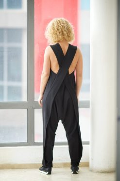 Women Jumpsuit, Women Romper, Harem Jumpsuit, Yoga Jumpsuit, Womens Overall, Plus Size Jumpsuit, Black Jumpsuit, Hipster Clothing, Elegant