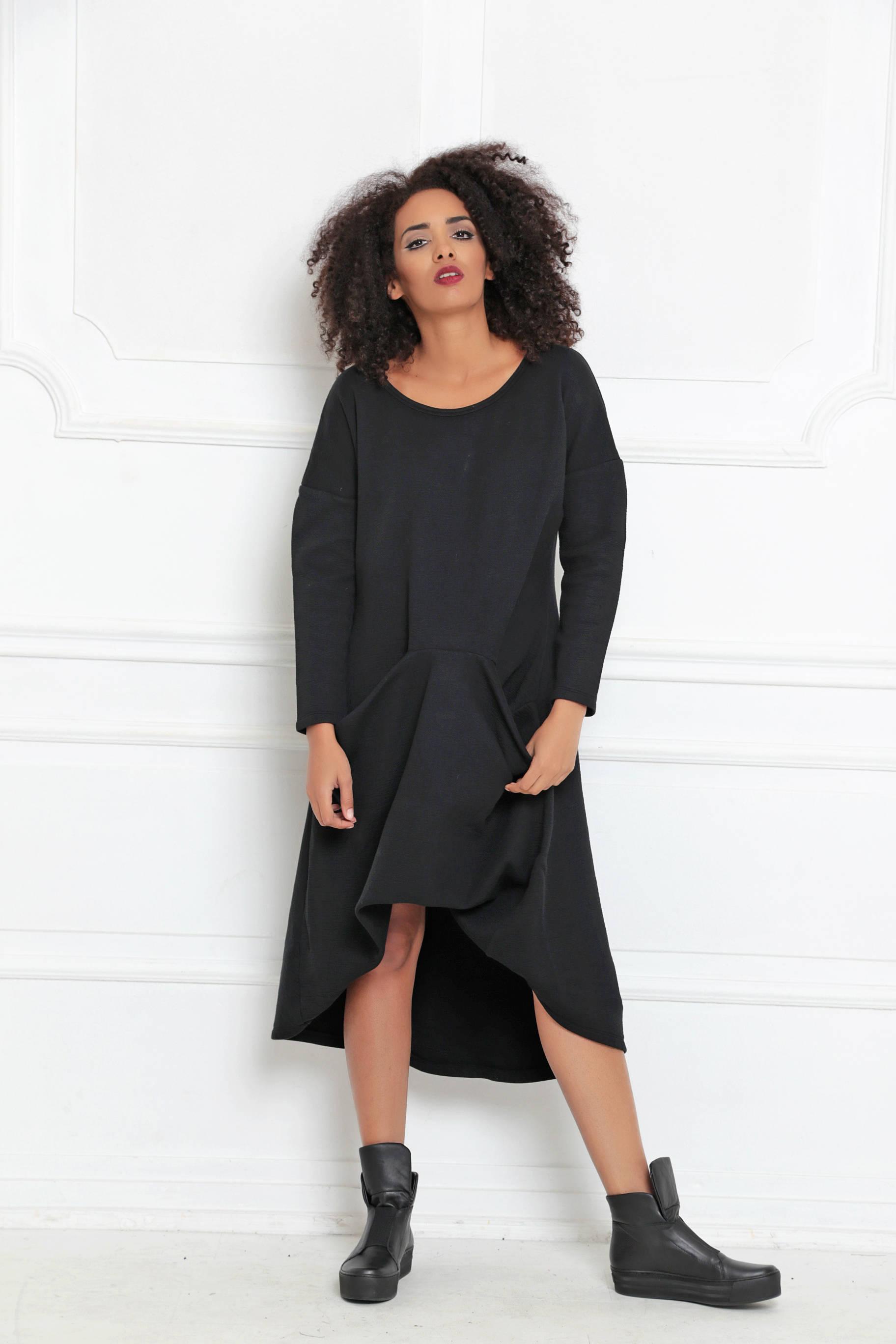Longsleeve Dress With Pockets