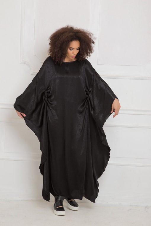 Kimono Dress, Abaya Dress, Maxi Dress, Plus Size Clothing, Moroccan Kaftan, Japanese Clothing, Women Kaftan Dress,Black Caftan,Batwing Dress