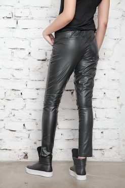 Faux Leather Pants, Leather Leggings, Black Pants, BDSM, Sexy Pants, Womens Trousers, Black Leggings, Leather Clothing, Long Leggings