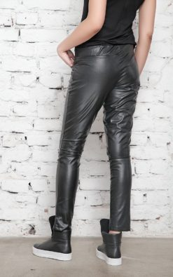 Faux Leather Pants, Leather Leggings, Black Pants, BDSM, Sexy Pants, Womens Trousers, Black Leggings, Leather Clothing, Long Leggings