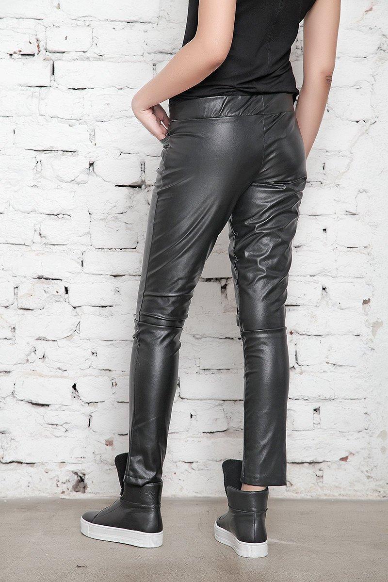 45c1ccca6fc82 Faux Leather Pants, Leather Leggings, Black Pants, BDSM, Sexy Pants, Womens