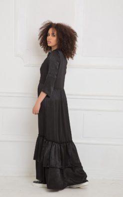 Maxi Dress, Black Maxi Dress, Plus Size Dress, Women Maxi Dress, Plus Size Maxi Dress, Long Maxi Dress, Gothic Clothing, Modest Maxi Dress