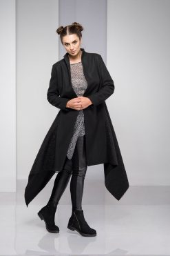 Winter Coat, Black Coat, Wool Coat, Plus Size Clothing, Wool Clothing, Long Black Coat, Maxi Coat, Plus Size Coat, Elegant Coat, Oversized