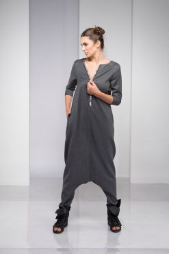 Jumpsuit Women, Wool Jumpsuit, Plus Size Clothing, Winter Jumpsuit, Plus Size Jumpsuit, Women Overall, Harem Jumpsuit, Wide Leg Jumpsuit