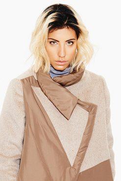 Winter Coat, Wool Coat, Beige Women Coat, Long Jacket, Warm Jacket, Bohemian Clothing, Long Coat, Beige Coat, Wool Jacket, Winter Clothing,