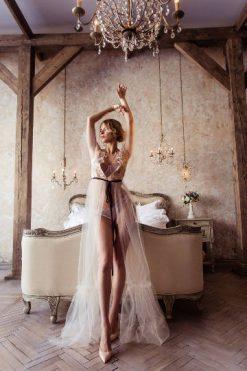 Lace Robe, Transparent Lingerie, Boudoir Dress, Honeymoon Lingerie, Women Sleepwear, Lace Dress, Girlfriend Gift, Women Lingerie Dress