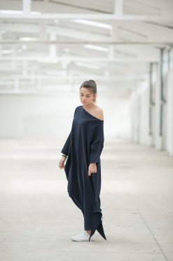 Maxi Dress, Black Maxi Dress, Plus Size Maxi Dress, One Shoulder Dress, Black Kaftan Dress, Women Black Dress, Caftan Dress, Long Maxi Dress