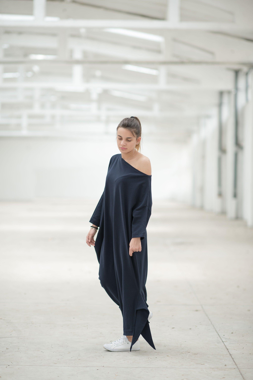 d5385ca146e4 Maxi Dress, Black Maxi Dress, Plus Size Maxi Dress, One Shoulder Dress,