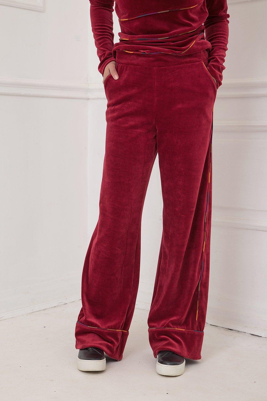 Red Velvet Pants Allseams