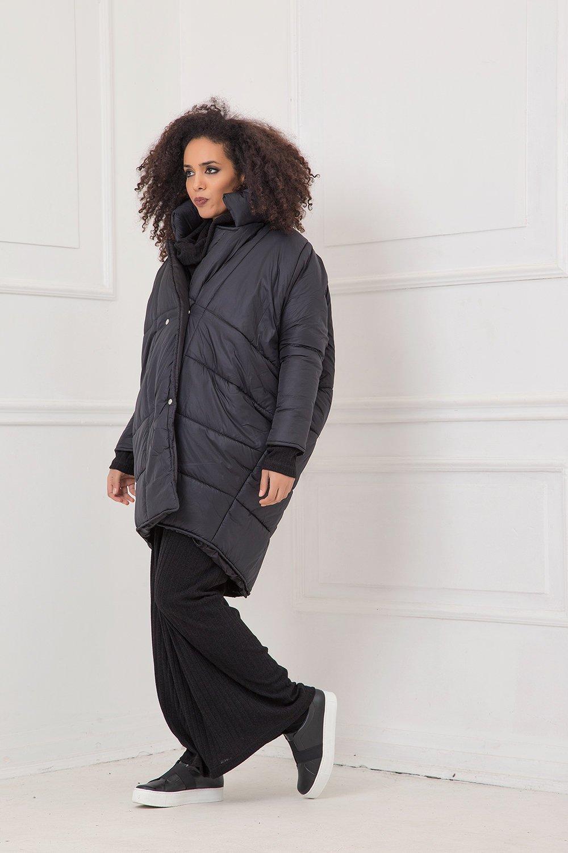 Winter Jacket, Women Jacket, Black Jacket, Plus Size Jacket, Oversize Jacket, Gothic Jacket, Warm Overcoat, Maxi Jacket, Avant Garde