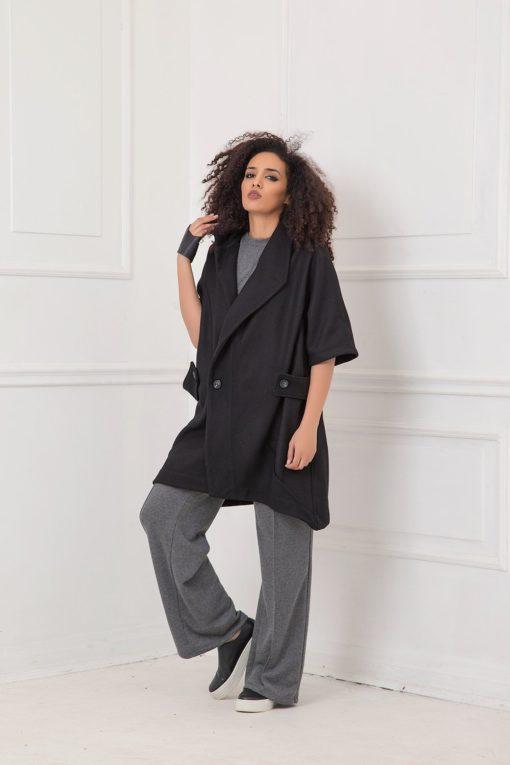 Black Winter Coat, Cashmere Coat, Wool Coat, Women Black Coat, Wool Clothing, Plus Size Coat, Oversized Coat, Cashmere Clothing, Maxi Coat