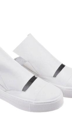 White Shoes/ Slip On Shoes/ Leather Flats/ Designer Sandals/ Platform Sandals/ Flat Sandals/ Cut Out Shoes/ Summer Shoes/ Hipster Flats