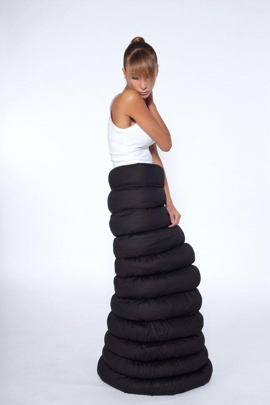887e6dbf96 Long Black Skirt,Black Cotton Long Skirt,Extravagant Long Skirt, Women's  Maxi Skirt