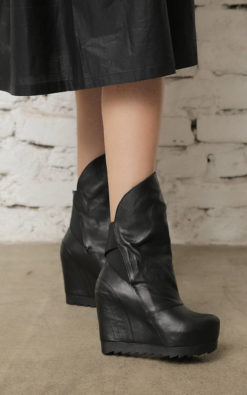 Woman Boots, Platform Shoes, Gothic Boots, Leather Shoes, Black Leather Boots, Women Shoes, Fashion Boots, Grunge Shoes,High Heel Punk Boots