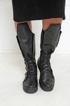Leather Boots, Women Boots, Steampunk Boots, Goth Shoes, Women Black Shoes, Knee High Shoes, Grunge Boots, Black Boots, Leather Boots, A1001