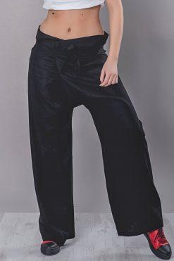 Linen Clothing, Black Linen Pants, Baggy Pants, Linen Harem Pants, Wide Leg Pants, High Waist Pants, Drop Crotch Pants, Urban Clothing