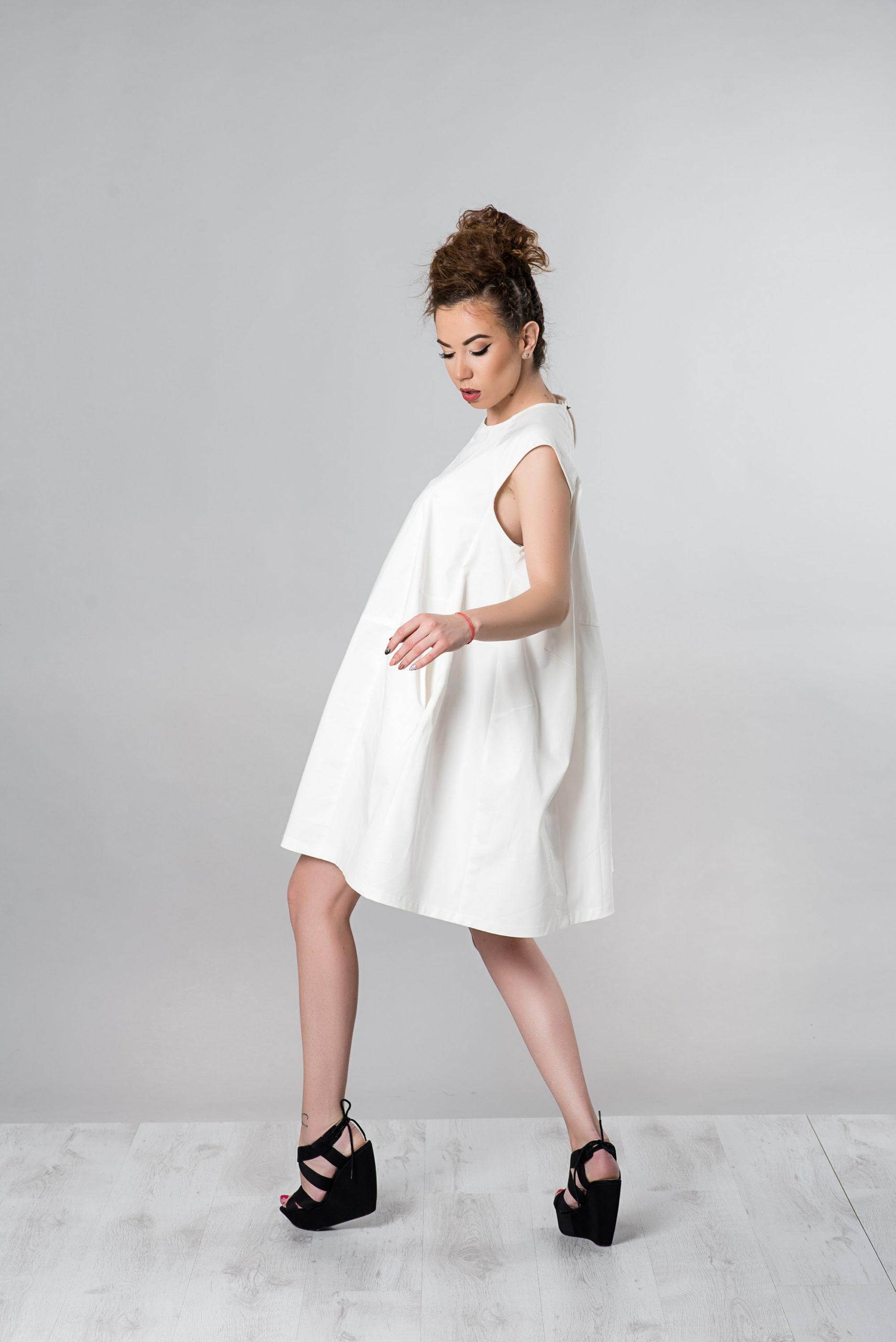 Loose Fit Midi Dress