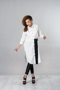 White Shirt, Plus Size Top, Long Shirt, Women Top, Extravagant Top, Loose Top, White Top, Oversized Shirt, Cotton Top, White Maxi Shirt