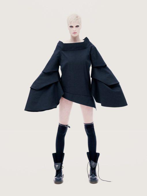 Asymmetrical Jacket,Japanese Clothing,Black Jacket,Cyberpunk Clothing, Black Dress,Avant Garde Clothing,Oversized Jacket,Black Winter Jacket
