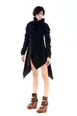 Black Jacket, Winter Jacket, Avant Garde Jacket, Long Jacket, Deconstructed Jacket, Women's Jacket, Plus Size Jacket, Women's Black Jacket
