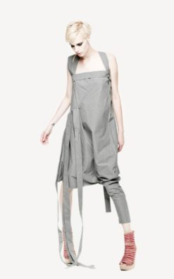 Gray Maxi Dress, Gray Tunic, Womens Jumpsuit, Tunic Dress, Suspender Dress, Drape Dress, Jumper Dress, Extravagant Jumpsuit, Gray Dress