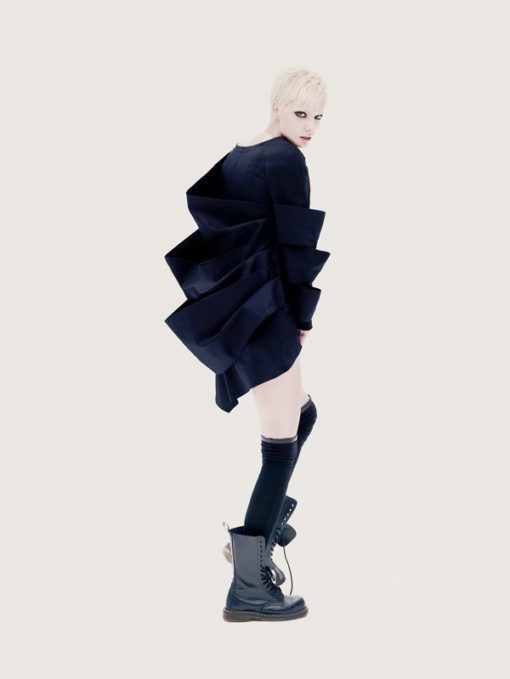 Winter Jacket, Oversized Jacket, Long Sleeves Jacket, Loose Jacket, Extravagant Jacket,Asymmetrical Jacket, Avant Garde Jacket, Black Jacket