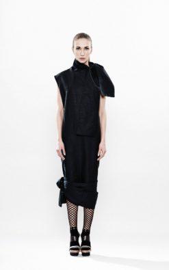 New Spring Mini Dress, Black Cocktail Dress,Black Dress, Cocktail Dress,Black Cocktail Tunic,Black Tunic Dress, Linen Dress, Loose Dress