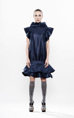 Bodycon Dress, Plus Size Dress, Black Linen Dress, Oversize Dress, Short Sleeve Dress, Extravagant Dress, Layered Dress, Sexy Dress