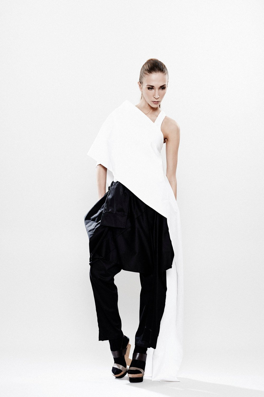 3a4c25b5 White Tunic, White Top, Oversized Shirt, Off Shoulder Top, Asymmetrical Top,