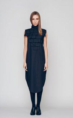 New Summer Black Dress,Tunic Dress, Plus Size Maxi Dress, Sleeveless Dress,Loose Dress,Shift Dress, Formal Dress, Black Dress,Bohemian Dress