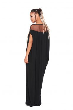 Dress For Women, Cocktail Dress, Black Kaftan, Oversized Dress, Plus Size Clothing, Kaftan Dress, Jersey Dress, Gothic Clothing, Dress