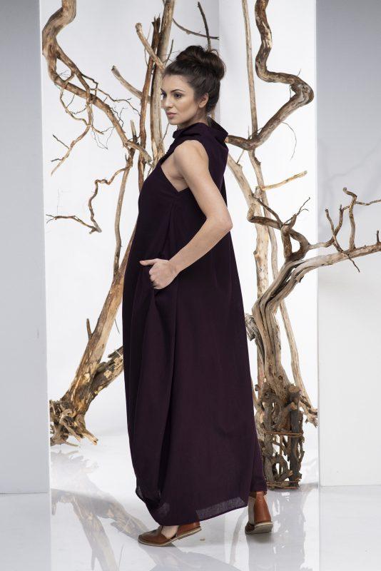 Women Dress, Kaftan Dress, Convertible Dress, Maxi Dress, Oversize Dress, Linen Dress, Loose Dress, Boho Dress,Plus Size Clothing,Sleeveless