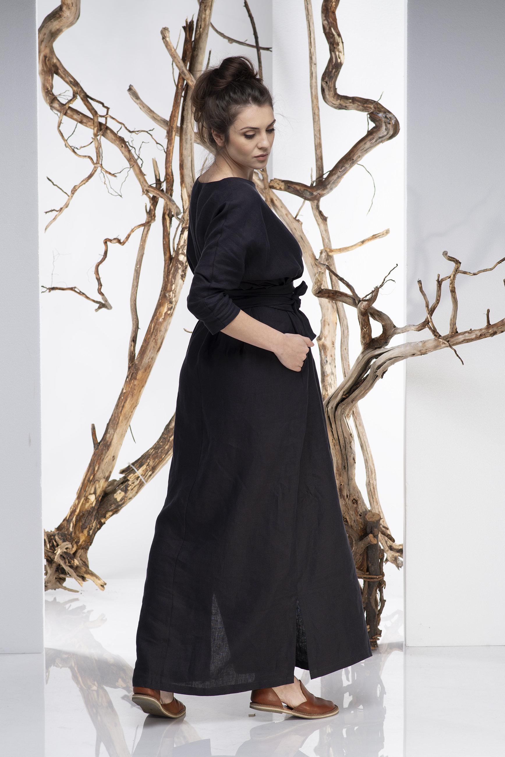 Oversized Linen Dress - ALLSEAMS