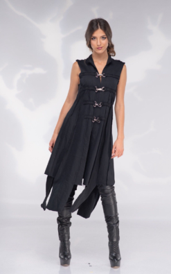 Sleeveless Long Vest