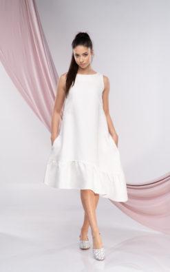 Minimal Midi Dress
