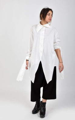 Asymmetric Long Sleeve Shirt