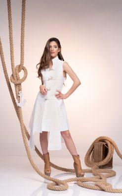 Women Vest Dress, White Linen Vest, Plus Size Clothing, Sleeveless Vest, Long Vest, Maxi Vest, Linen Clothing, Extravagant Vest, Futuristic