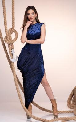 Velvet Sleeveless Dress