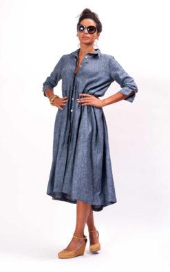 Maxi Linen Dress