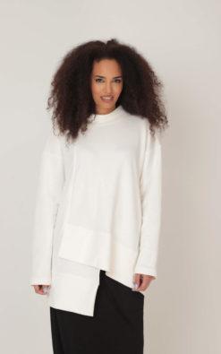 Winter Sweatshirt, White Sweatshirt, Women Sweatshirt, Plus Size Clothing, Oversize Sweatshirt, Winter Blouse, Cotton Sweatshirt, Adeptt