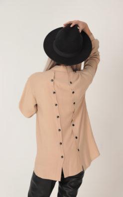NEW Women Shirt, Beige Shirt, Fall Shirt, Plus Size Clothing, Winter Shirt, Collar Shirt, Plus Size Shirt, Long Sleeve Shirt, Fall Clothing