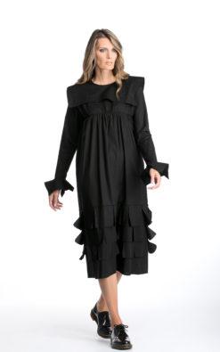 Gothic Dress, Black Loose Dress, Dark Fashion, Long Sleeve Dress, Grunge Dress, Victorian Dress, Winter Dress, Plus Size Clothing, Oversize