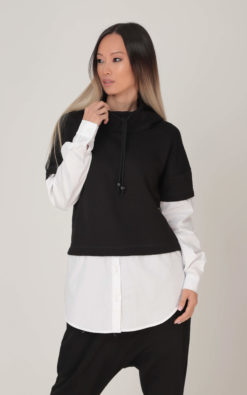 NEW Hooded Sweatshirt, Black Hoodie, Women Sweatshirt, Plus Size Clothing, Women Hoodie, Fall Sweatshirt, Plus Size Hoodie,Winter Sweatshirt