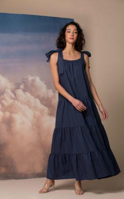 Navy Blue Linen Dress, Linen Maxi Dress, Linen Summer Dress, Maxi Summer Dress, Linen Clothing, Maxi Linen Dress, Plus size Linen Dress