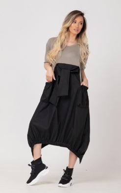 Linen Dress, Asymmetric Dress, Women Dress / RETORA / Plus Size Clothing, Extravagant Dress, Plus Size Dress, Bohemian Dress, Summer Dress