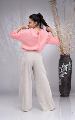 Linen Top Women, Linen Blouses for Women, Kimono Top, Linen Long Sleeve Top, Summer Linen Blouse