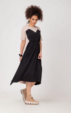 Loose Short Sleeve Dress (1)