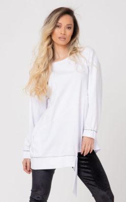 White Tunic Blouse, Women Tunic Blouse / RAJAT /, Plus Size Clothing, White Blouse, Women Blouse, Plus Size Tunic, Loose Tunic, Minimalist